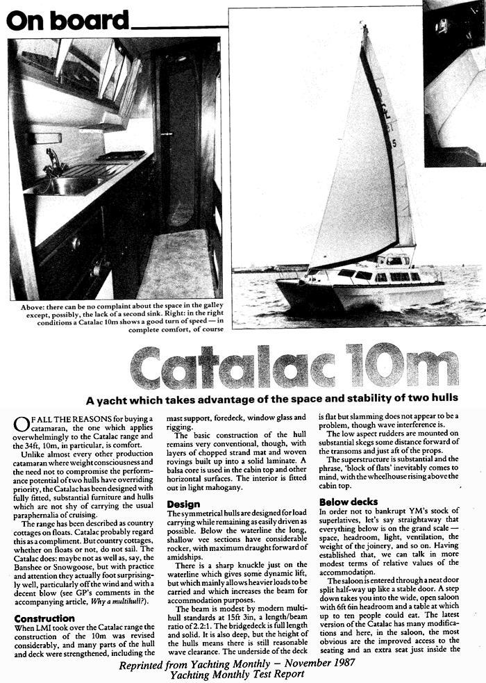 Catalac 10M Review